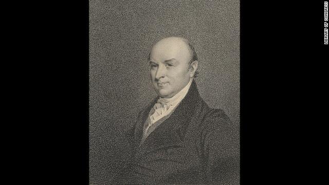 John Quincy Adams was sworn into office on March 4, 1825.