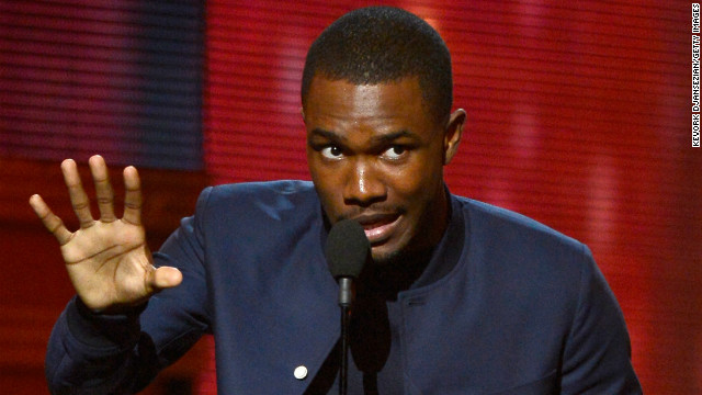"""Frank Ocean nabbed the Grammy for best urban contemporary album, beating out Miguel and Chris Brown. The """"Thinkin Bout You"""" singer was nominated for six awards in all."""