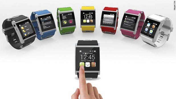 The Italian-made aluminum <a href='http://www.imsmart.com' target='_blank'>I'm Watch</a> is one of the pricier smartwatch options at $399. It comes in seven colors and runs the Droid 2 operating system. It connects to Android smartphones using Bluetooth to get texts and e-mails, check social networks, make calls and see calendar events.