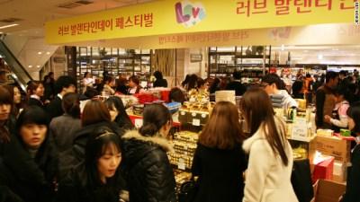 Valentines Day in Korea