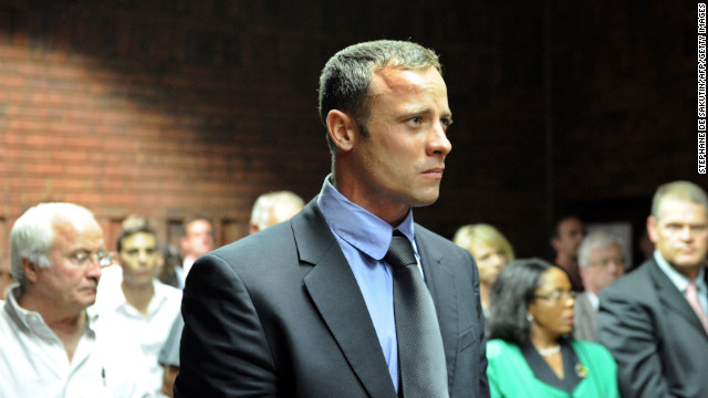 "Oscar ""Bladerunner"" Pistorius has been charged with the killing of his girlfriend, Reeva Steenkamp, who was found shot dead in his home on February 13. Pistorius was the first disabled person to compete in the able-bodied Olympics and ran for the South African team."