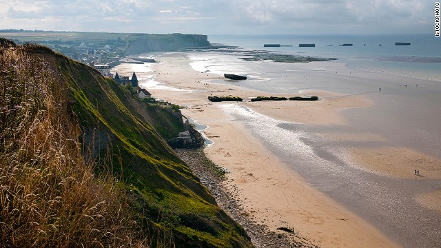42. D-Day beaches, Normandy, France