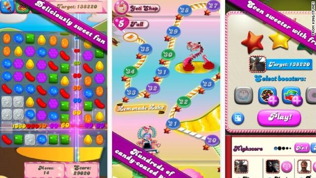 """""""Candy Crush"""", la dulce adicción de millones en Facebook"""