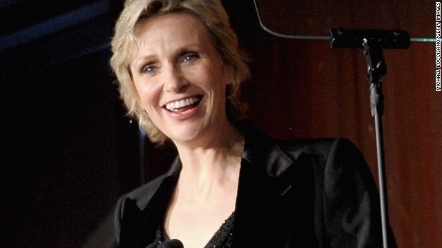 """Jane Lynch wrote about her addictions to alcohol and cough syrup in her memoir """"Happy Accidents."""" She<a href='http://www.accesshollywood.com/jane-lynch-talks-sues-glee-future-and-cory-monteiths-rehab-move-hes-renewing-his-vows-to-sobriety_article_78523' target='_blank'> told Access Hollywood in 2013</a> that she has been sober for 21 years."""