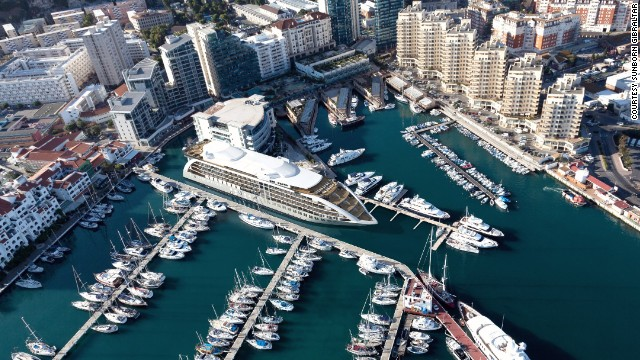 Is it a superyacht? Is it a hotel? In fact, it's both. Introducing Gibraltar's new $200 million Sunborn Yacht Hotel.