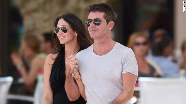 """Dad-to-be Simon Cowell has said he's never been happier. """"The X Factor"""" judge is looking forward to fatherhood with Lauren Silverman."""