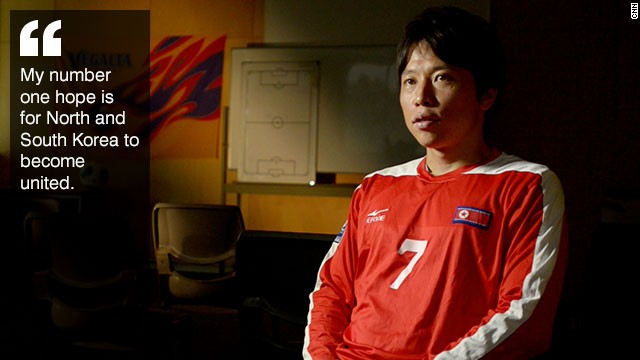 Korea United: Football hero\'s ambitious goal