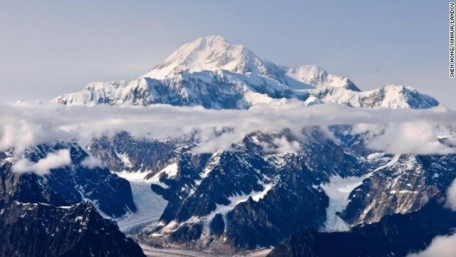 The highest mountain in North America, Mount McKinley, is in the Alaska Range.