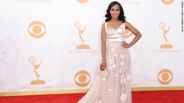 Kerry Washington isn't one to share her personal life, but the newlywed is expecting her first child with husband Nnamdi Asomugha, per several reports. According to <a href=