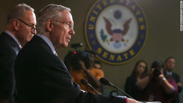 Sen. Harry Reid, D-Nevada -- The man steering the ship in the Senate. Master at using Senate procedure to his advantage, Reid is the main force in controlling the voting process in the chamber and ensuring that an attempted filibuster by tea party-types fails. The majority leader will be a primary negotiator if we reach phase three, if the House does not accept the Senate spending bill.