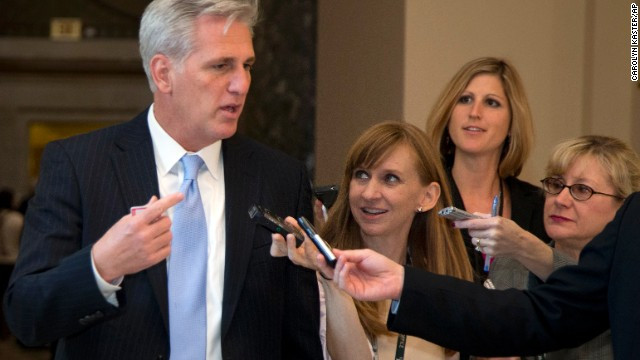 Rep. Kevin McCarthy, R-California -- The numbers guy. McCarthy, the House whip, has the tricky job of assessing exactly where Republican members stand and getting the 217 votes it takes to pass a bill in the chamber. He is known for his outreach to and connection with many of the freshmen House members who align with the tea party.
