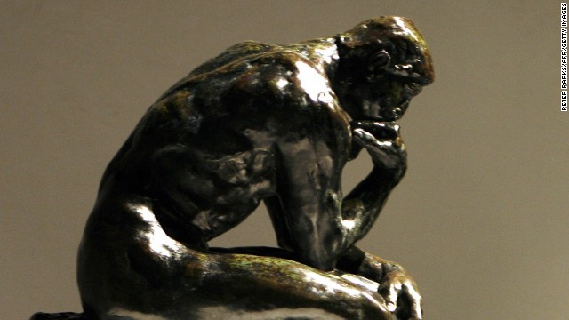 There are 28 castings of Auguste Rodin's famous