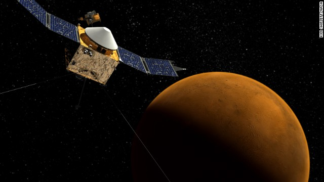 Photos: Mars MAVEN mission