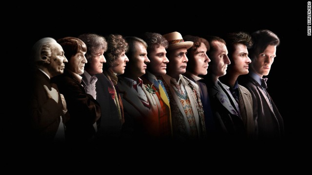 """On November 23, 1963, """"Doctor Who"""" was first broadcast on the BBC. Today, it remains a cult favorite among science-fiction fans young and old. Click through the gallery to see the 11 men who have played the title character -- and who will play him next."""