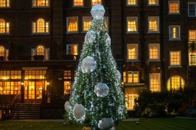 Árbol de sombrillas, hotel Goring, Londres