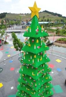 Árbol de Navidad de Legoland, Malasia