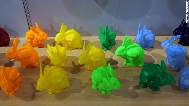 3-D printing has been all the rage in tech circles for a couple of years, but a