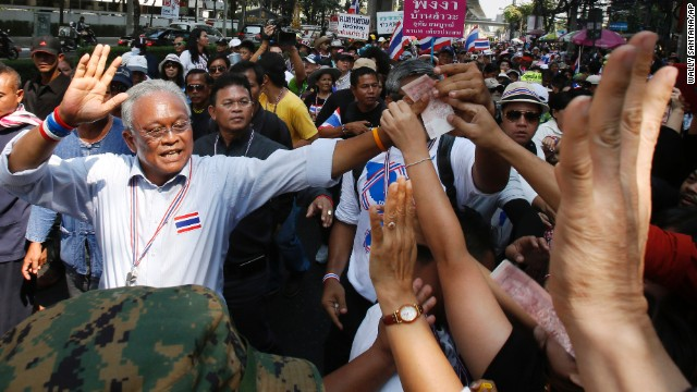 Photos: Protests in Thailand\'s national election