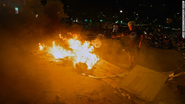 Photos: Protests erupt in Venezuela