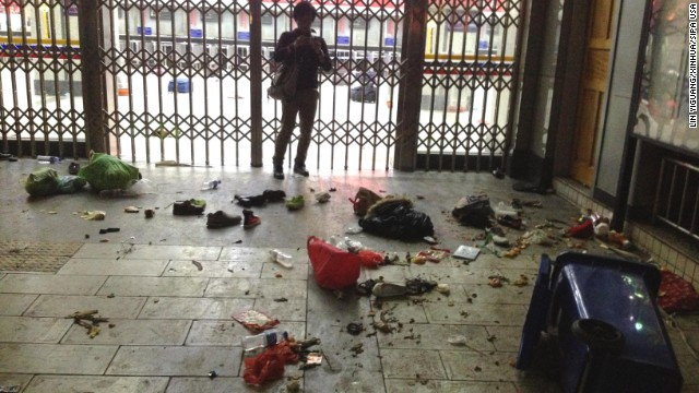 Photos: Deadly China railway attack