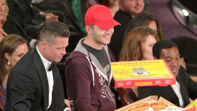 """""""Esto es el sueño americano"""", dice el repartidor de pizza de los Óscar"""