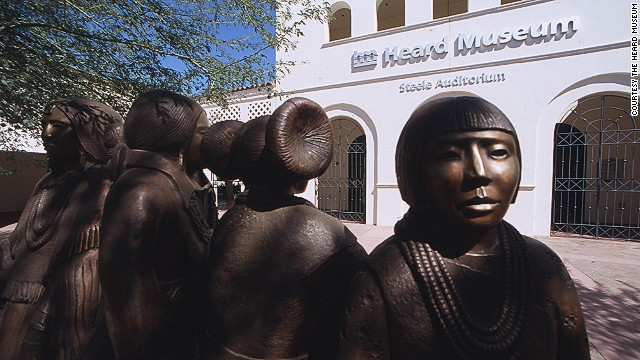 Arizona is home to 22 federally recognized tribes, and Phoenix is home to almost 45,000 indigenous people and a number of acclaimed Native American restaurants. The Heard Museum is one of the area's best attractions for learning about American Indian culture.