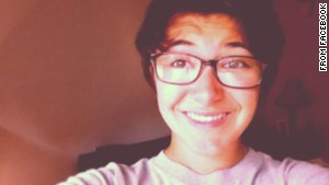 Maren Sanchez, shown here in her Facebook profile, was attacked Friday morning in a hallway at school.