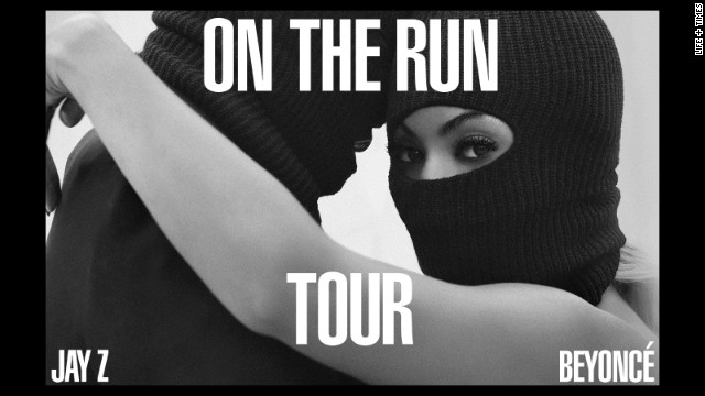 "Jay Z and Beyonce are combining their superstar talents and hitting the road. The couple announced Monday, April 28, that they'll co-headline a summer tour called ""On the Run,"" starting in June."