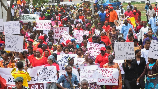 Nigerian schoolgirls kidnapped