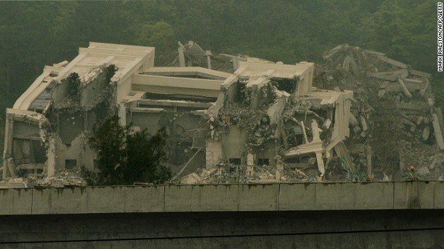 The Sanjiang Church in Wenzhou had been demolished by April 28.
