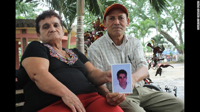 For years, Carmen Ayala and Jose Noriega were looking for their son, Luis Fernando, who went missing after he left Honduras for the United States 11 years ago. DNA tests helped them find their son in an Arizona morgue.