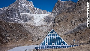 The Pyramid high-altitude research center.