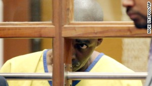 Actor Michael Jace appears in court in Los Angeles on Wednesday. He has been charged in the shooting death of his wife.