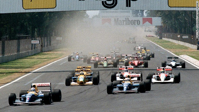 Image result for 1992 mexican grand prix