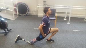 Lewis working out at Pace