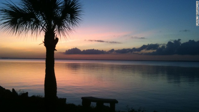 """The Sportman's Lodge is perfectly positioned for taking in multicolored sunsets at East Bay, part of the larger Apalachicola Bay. Click through the gallery to see more photos from """"Old Florida"""":"""