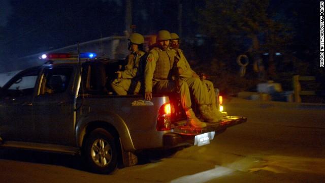 Photos: Taliban attack Pakistani school