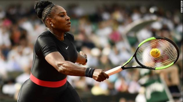 Serena s catsuit banned by French Open