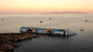 Los errores que conducen al desastre del Costa Concordia