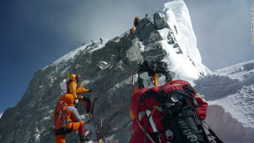 This year's climbing season on the world's highest peak resumed in April after a two-year hiatus.