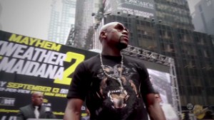 In the ring with Floyd Mayweather