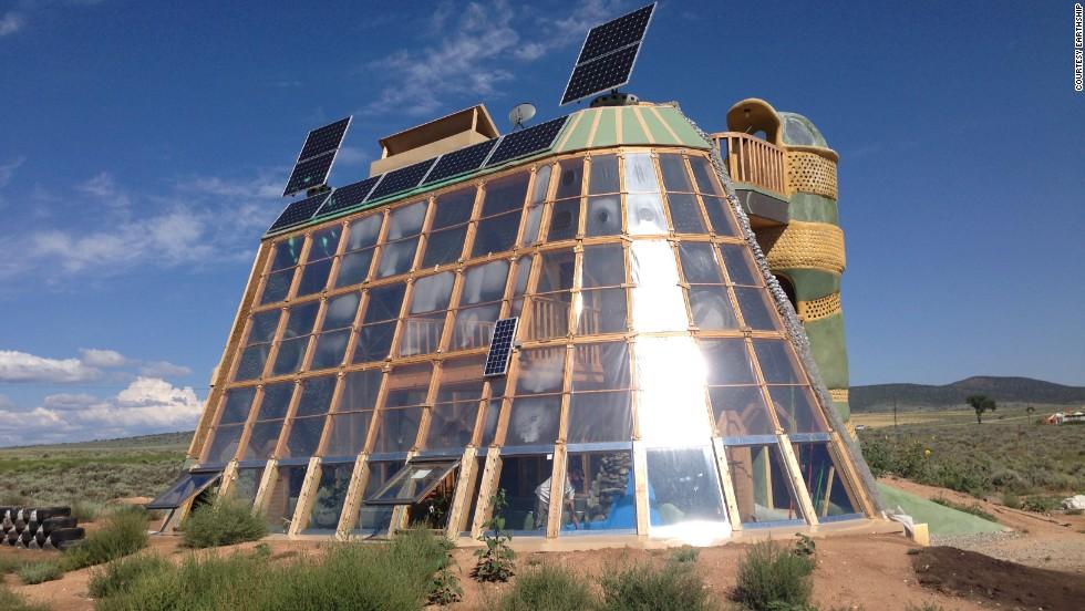 Self Sustaining Earth Ships Inside