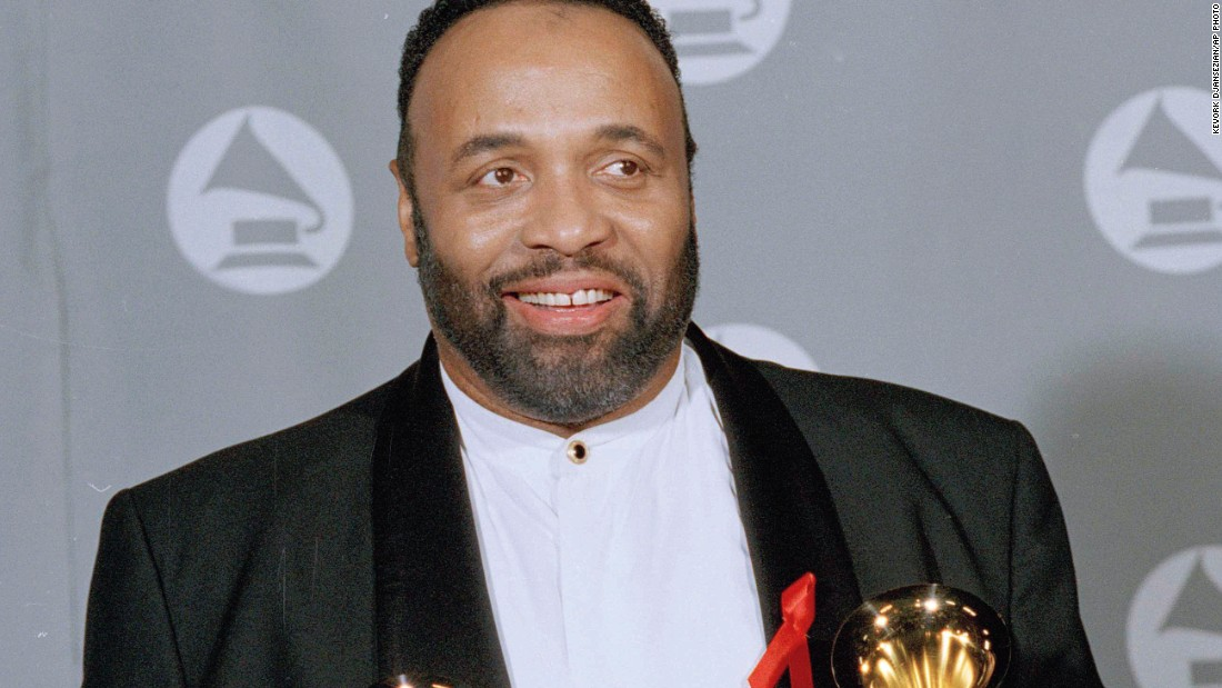 Andrae Crouch at the Grammy Awards in 1995.