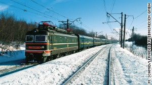 The main route of the Trans-Siberian railway runs from Moscow to Vladivostok and covers 9,258 kilometers.