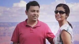 American blogger Avijit Roy was hacked to death in late February.
