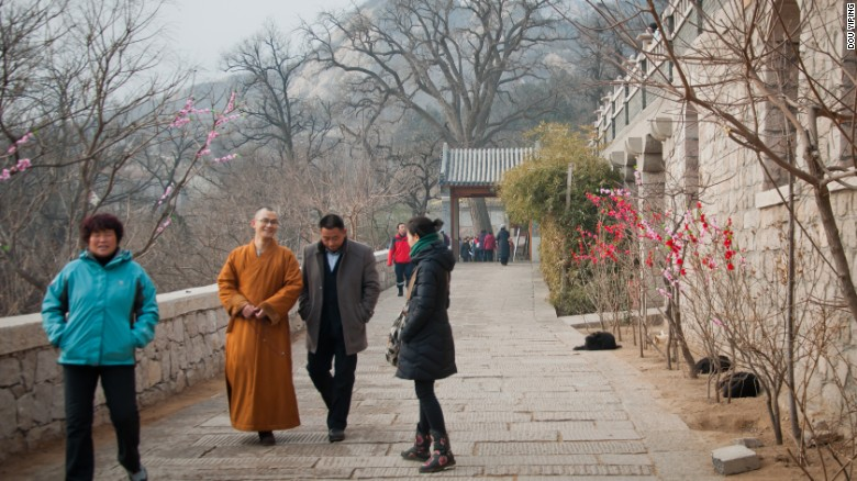 Longquan Monastery on the outskirts of Beijing