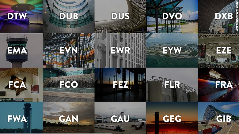 """The <a href=""""http://airportcod.es/#"""" target=""""_blank"""">Airport Codes </a>website provides stories behind more than 350 airport codes around the world. The following gallery offers a sampling, with back stories provided courtesy of the site. On the website you can find the story behind your favorite airport's code or contribute a new entry."""