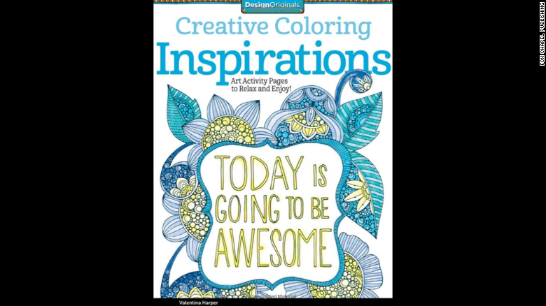 """<a href=""http://www.amazon.com/Creative-Coloring-Inspirations-Activity-Pages/dp/1574219723/ref=sr_1_1?s=books&ie=UTF8&qid=1429573000&sr=1-1&keywords=Creative+Coloring+Inspirations%3A+Art+Activity+Pages+to+Relax+and+Enjoy%21"" target=""_blank"">Creative Coloring Inspirations</a>: Art Activity Pages to Relax and Enjoy!"" by Valentina Harper gives doodlers of all ages a chance to make the page sing with color.<br />"
