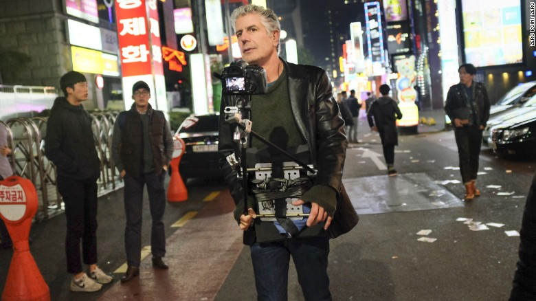 Behind-the-scenes with Anthony Bourdain, What Is It Like?