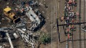 What happened in Amtrak train derailment?